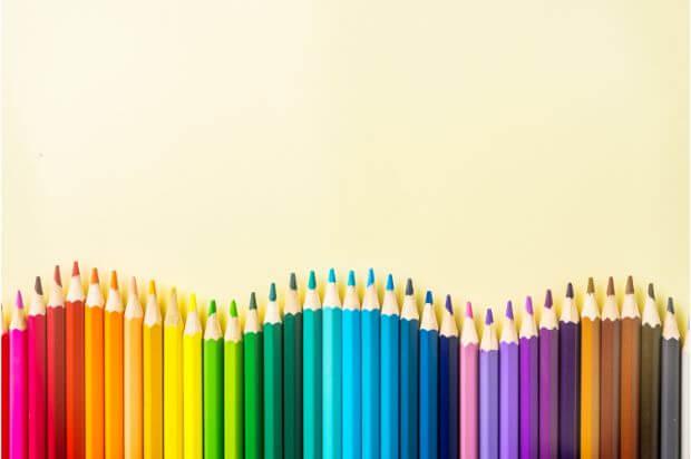 カラーセラピーの色の意味