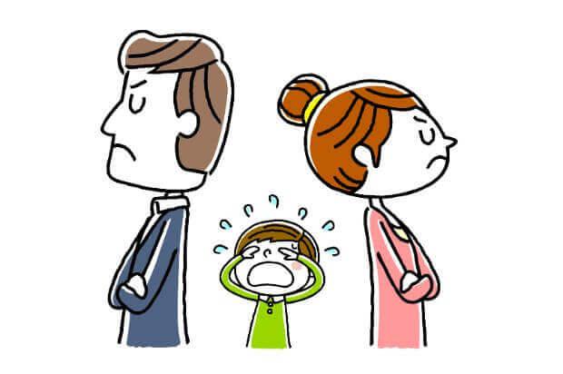 必見!夫婦喧嘩が子供に与える影響とトラウマについて